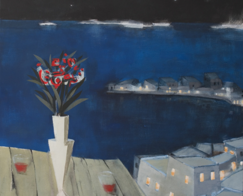 Christos Kechagioglou night table